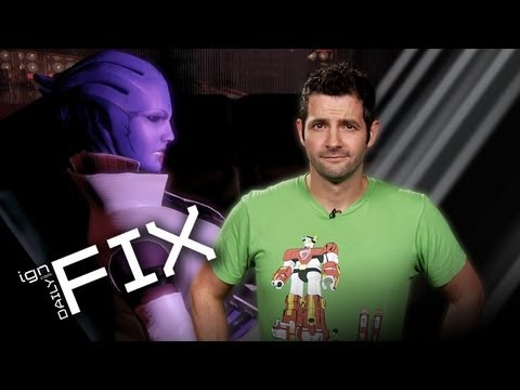 Mass Effect 3 Omega DLC & Street Fighter x Tekken Rebalances - IGN Daily Fix 10.12.12