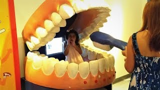 CHILDREN'S MUSEUM Pretend Play Indoor Playground Giant Mouth Toothbrush