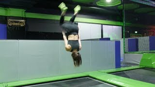 SOMERSAULTS AND TRAMPOLINING | THINK OUTSIDE THE GYM