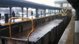Service train. Subway New York