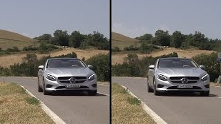 2015 Mercedes S-Class Coupé: Active Body Control demonstration