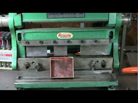 Forming Copper Boxes