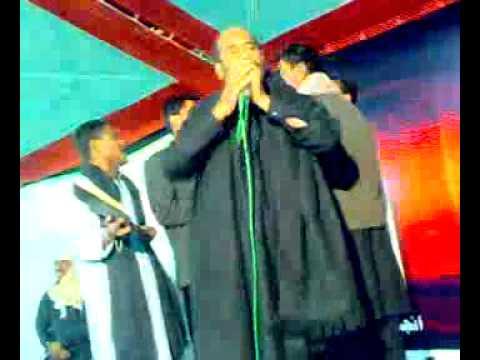 Mukhtiar Ali Sheedi Noha Mihon Khan Rind Nawab Shah 22 Moharam 2010 2011 video
