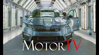 CAR FACTORY : 2017 ŠKODA OCTAVIA PRODUCTION l Mladá Boleslav Plant l Full Assembly Line (NO MUSIC)