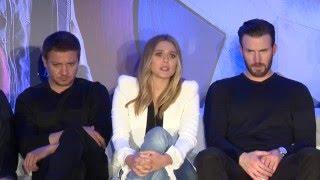 Full Video: Team Captain America (Chris Evans, Paul Rudd, Sebastian Stan) Talks Civil War
