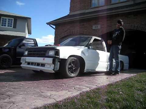 Slammed Ford Ranger >> bagged mazda b2200 slammed - YouTube