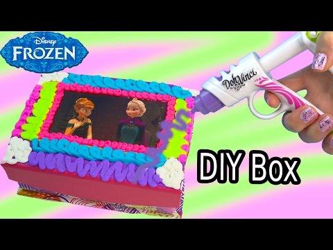 Queen Elsa Princess Anna Playdoh Dohvinci Diy Disney Frozen Sticker Box Toy Play Doh Vinci Fun Craft video