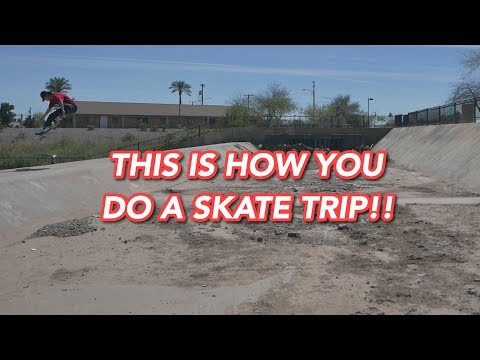 This Is How You Do A Skate Trip!!