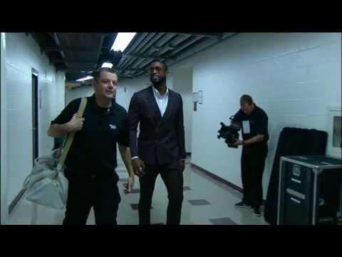 Inside the NBA: Dwyane Wade's new suit