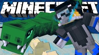 "Minecraft Dinosaurs | Jurassic Craft Modded Survival Ep 74! ""JURASSIC WORLD SEA CAGE!"""