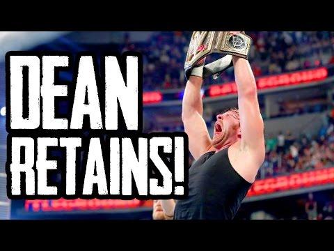 DEAN DEFENDS TITLE! WWE Battleground 2016 Results w/ NERDCUBED! (Going in Raw Ep. 82)