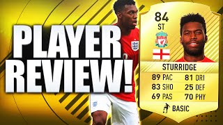 FIFA 17 STURRIDGE PLAYER REVIEW & IN GAME STATS!! FIFA17 ULTIMATE TEAM