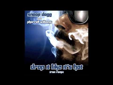 Snoop Dogg & Pharrell Williams - Drop It Like It's Hot (Tron Remix)