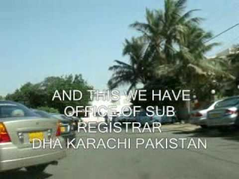 ROUTE OF PDOHA DHA  DEFENCE AUTHORITY KARACHI OFFICE PAKISTAN REALESTATE PROPERTY