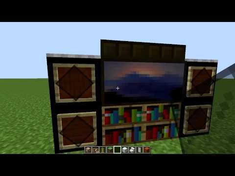 Майнкрафт как сделать телевизор без модов видео