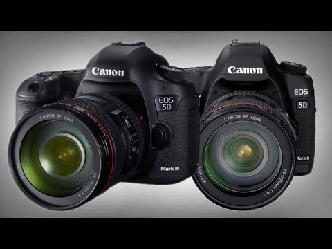The 5D Mark II vs 5D Mark III