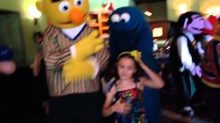 Sesame Character Breakfast Beaches Resorts