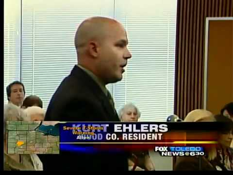 Wood County commissioners unanimously rejected a levy request for the Toledo ...