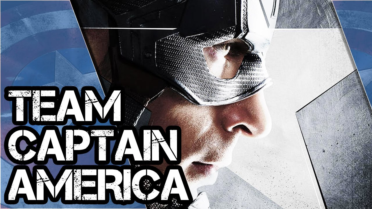CAPTAIN AMERICA: CIVIL WAR | Character Poster Team Captain America