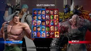 Marvel VS Capcom INFINITE 2VS2 gameplay