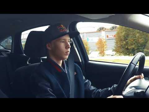 Kalle Rovanperä Takes His Driving Test