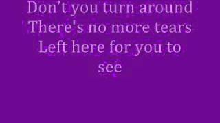 Whitney Houston-It's Not Right But It's Okay Lyrics