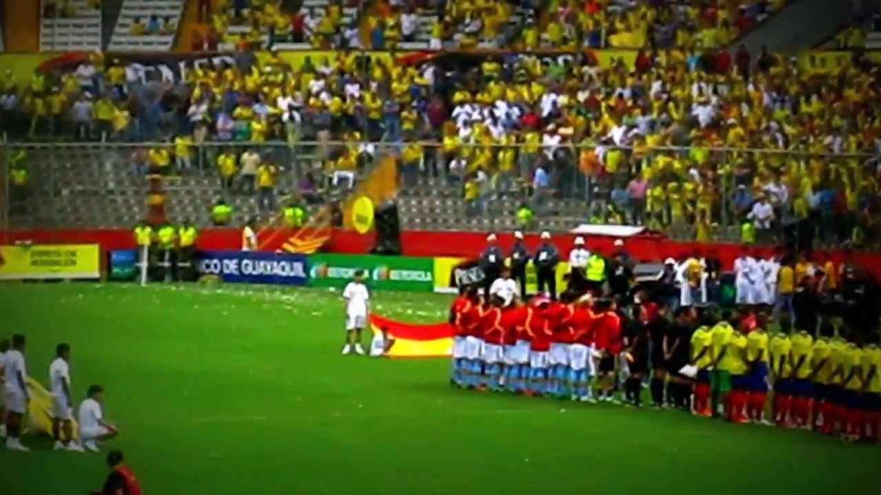Barcelona Ecuador vs Espana Ecuador vs España Partido Del