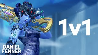 1v1: Looking for the Widow jump shot! | Overwatch