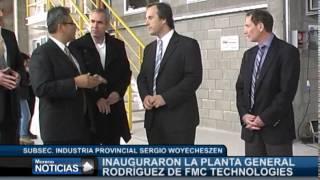 Inauguraron la planta General Rodríguez de FMC Technologies   Richard Alabaster