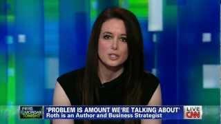 Carol Roth Dismantles Clinton Surplus Myth Piers Morgan CNN Robert Reich
