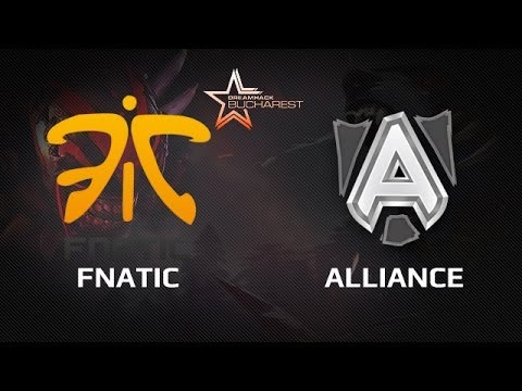 DH Bucharest WB Semifinal Fnatic vs Alliance Game 3