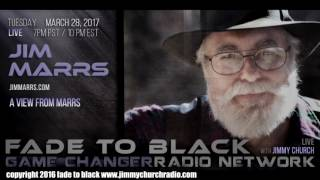 Ep. 632 FADE to BLACK Jimmy Church w/ Jim Marrs : The Illuminati : LIVE