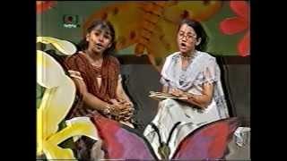 Nazia Choudhury in BTV on Poet Kazi Nazrul Islam Part 2
