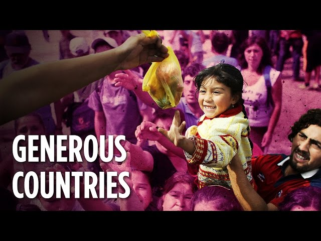 Which Countries Have The Most Generous People?