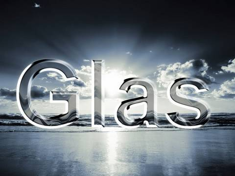 Adobe Photoshop CS5 Tutorial - Glasschrift
