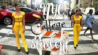 A DAY IN MY LIFE AS AN NYC COLLEGE STUDENT | Paige Secosky