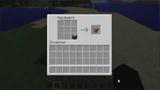 Minecraft Bretter craften