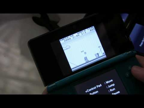 Super Mario Land Virtual Console - Gameboy (3DS NYC Preview Event 2011)
