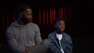 "12-year-old Alex Hibbert on ""Moonlight"""