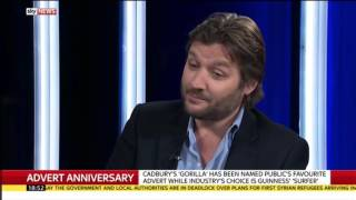 Joe Petyan - J. Walter Thompson London - 60 years of TV ads - Sky News