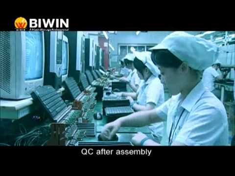 Biwin Factory Tour -- SSD and USB flash drive manufacturing awesomeness