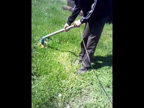 Электрокосилка для высокой травы своими руками 86