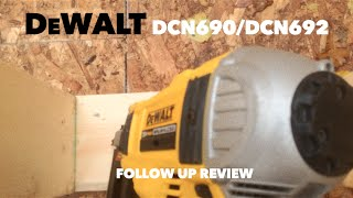 DeWalt DCN690 Cordless Framing Nailer Follow Up Review