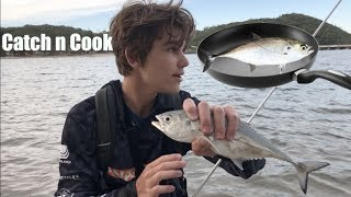 Catch n Cook Anaconda Beach Adventure! Pt.1