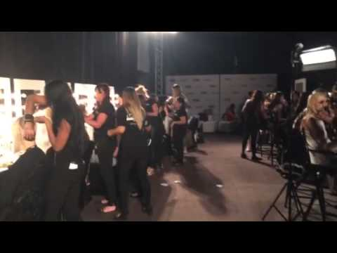 Exclusive behind the scenes at Fashion Forward Dubai