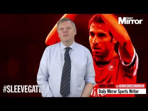 Mathieu Flamini's Sleevegate spat with Arsène Wenger with John Cross