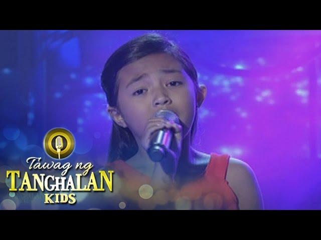 Tawag ng Tanghalan Kids: Kiezzel Mae Monterola | Nag-iisang Bituin