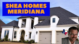 Shea Homes Model Home in Meridiana - Plan 6020