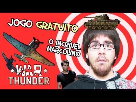 O INCRÍVEL MARCOLINO! - War Thunder (JOGO GRÁTIS)