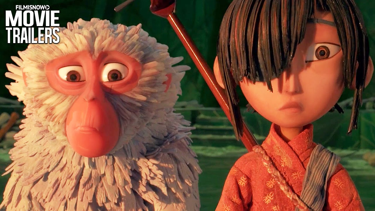 KUBO AND THE TWO STRINGS Official Trailer #2 - Epic action-adventure [HD]